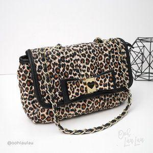 Betsey Johnson Leopard Shoulder Bag